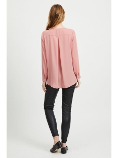 vilucy l/s shirt - noos 14044253 vila blouse brandied apricorn