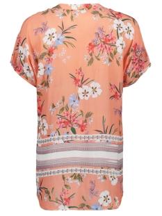 v-neck blouse print 0419 7018 smith & soul blouse coral/colorful