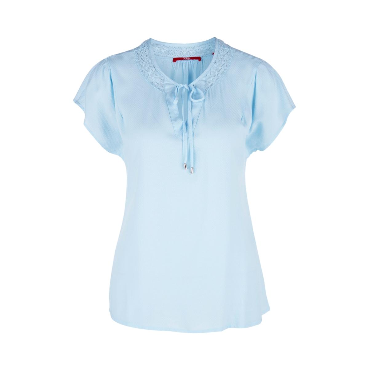 blouse met v hals en strik sluiting 14905125318 s.oliver blouse 5068