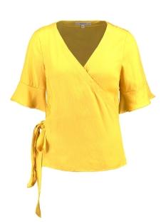 geel t shirt met v hals e90035 garcia t-shirt 3065 sulphur