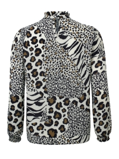 vera blouse dayz blouse offwhite animal