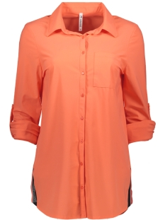 Zoso Blouse BONNY TRAVEL BLOUSE 192 SALMON/NAVY