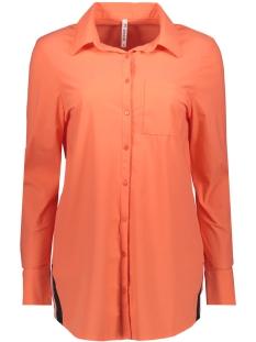 bonny travel blouse 192 zoso blouse salmon/navy