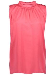 blouse with high collar detail n1379 saint tropez top 7332 p.grape
