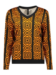 IZ NAIZ Blouse BLOUSE GRAPHIC 3576 ORANGE