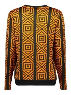 blouse graphic 3576 iz naiz blouse orange