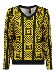 IZ NAIZ Blouse BLOUSE GRAPHIC 3576 YELLOW