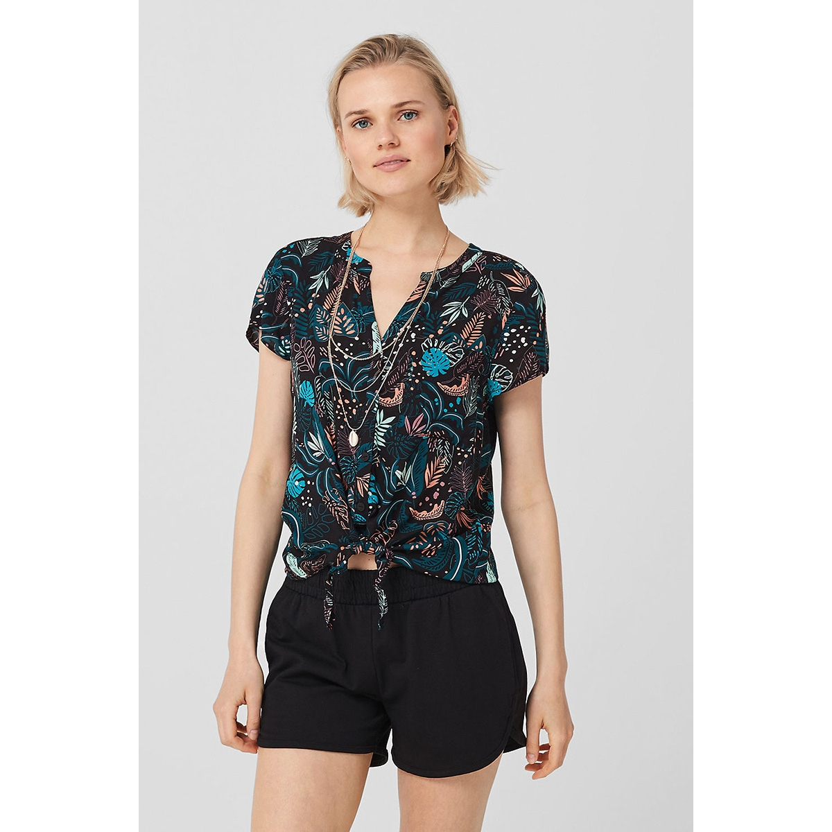 blouse met knoopdetails 46906127686 q/s designed by blouse 99a0