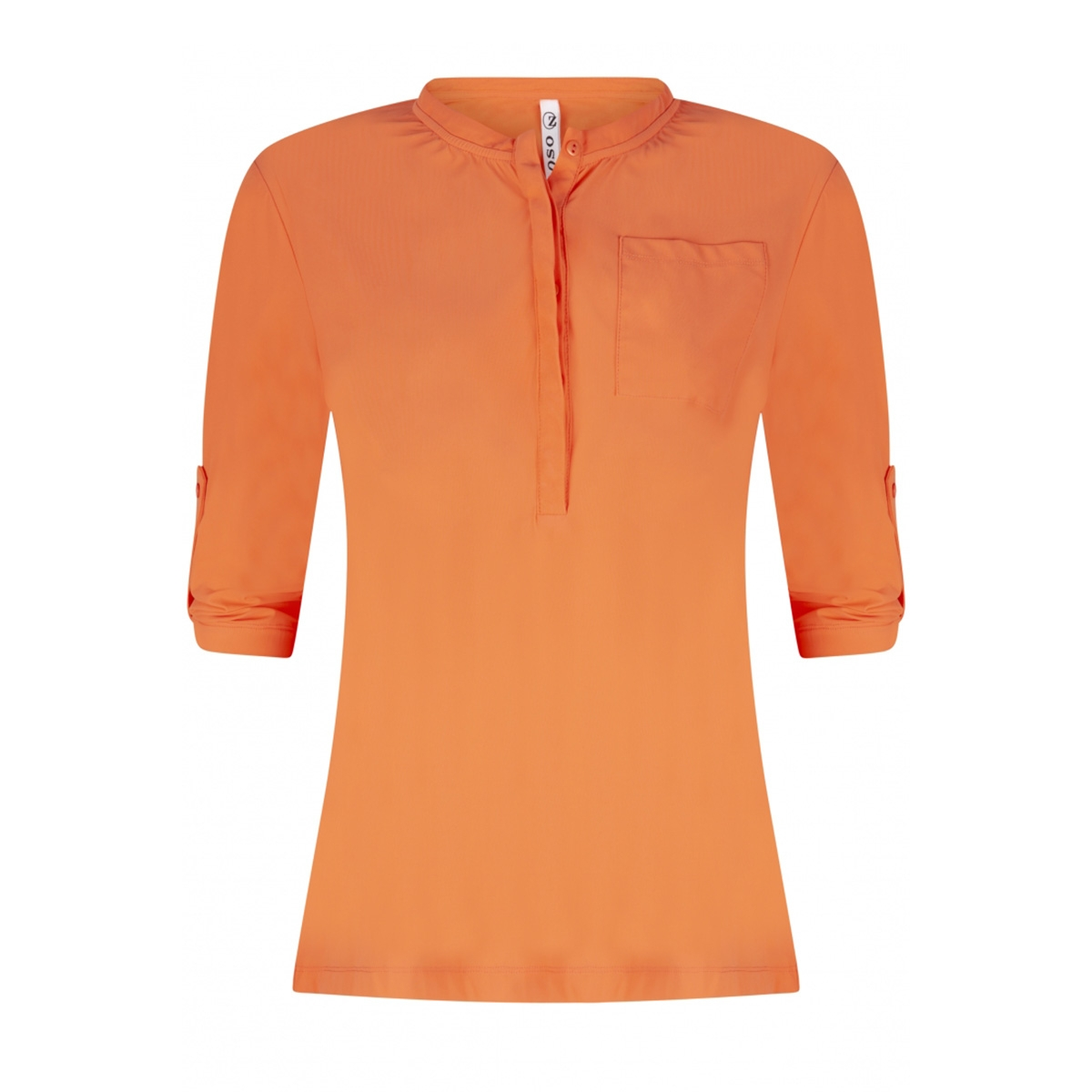 britney travel blouse 192 zoso blouse 0078 salmon