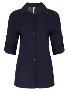 hope travel blouse 192 zoso blouse 0008 navy
