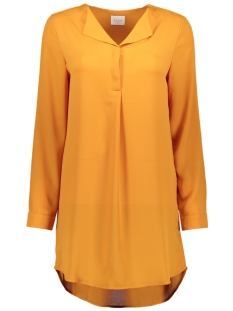 vilucy l/s tunic noos 14047189 vila tuniek golden oak