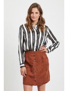 objtara l/s shirt i. 104 23030134 object blouse gardenia/aop