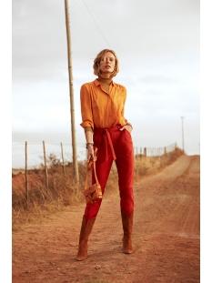 vilucy l/s button shirt - noos 14051975 vila blouse golden oak
