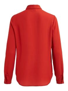 vilucy l/s button shirt - noos 14051975 vila blouse ketchup