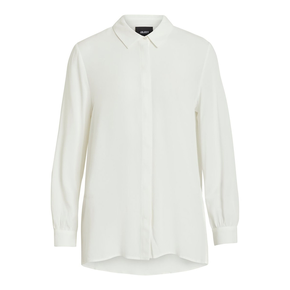 objbay l/s shirt noos 23030253 object blouse white