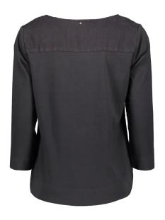 shirt met opengewerkte details 22001451 sandwich t-shirt 80077