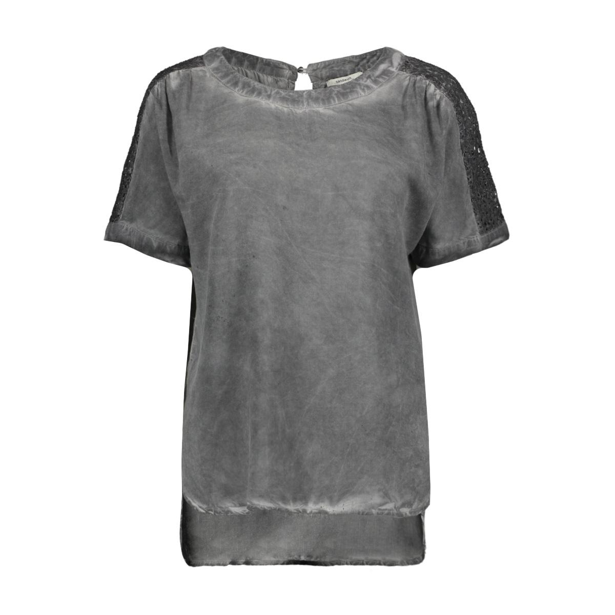 t shirt met kanten details 22001467 sandwich t-shirt 80077