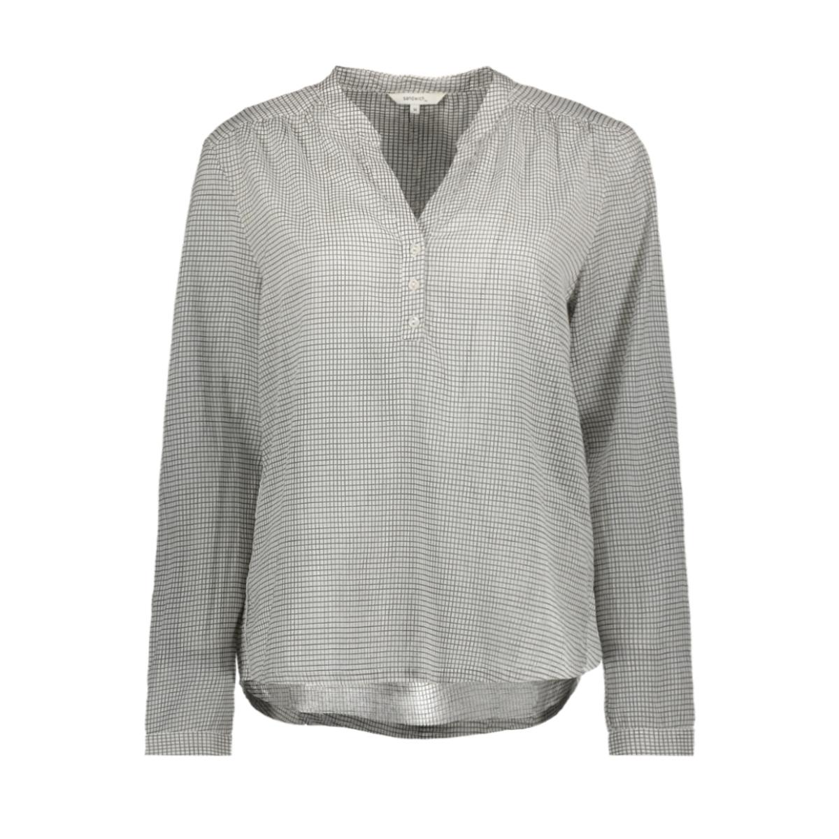 blouse met ruitpatroon 22001497 sandwich blouse 80076