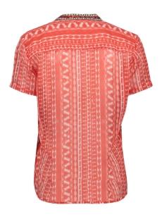 blouse met kralen en tribal print 22001522 sandwich blouse 20157