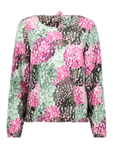 BLOUSE MET ALL OVER PRINT 22001696 50015