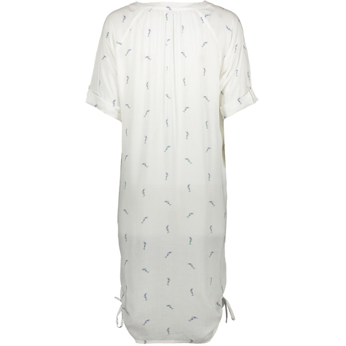 jurk met vispatroon 22001652 sandwich jurk 10058