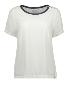 Sandwich T-shirt T SHIRT MET SIERKNOPEN 22001683 10058