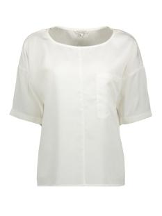 blouse met borstzak 22001701 sandwich blouse 10092