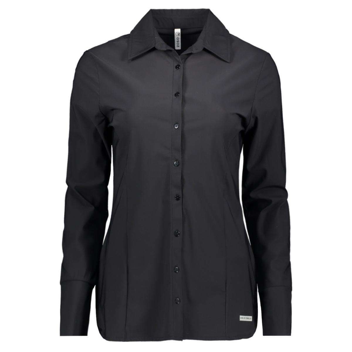 denver 194 travel blouse zoso blouse black