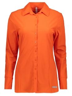 denver 194 travel blouse zoso blouse orange