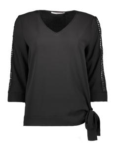 Aaiko T-shirt MARDIA TOP PES 587 BLACK
