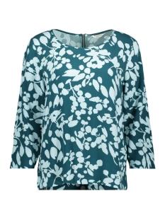 blouse met bloemprint 22001738 sandwich blouse 50082