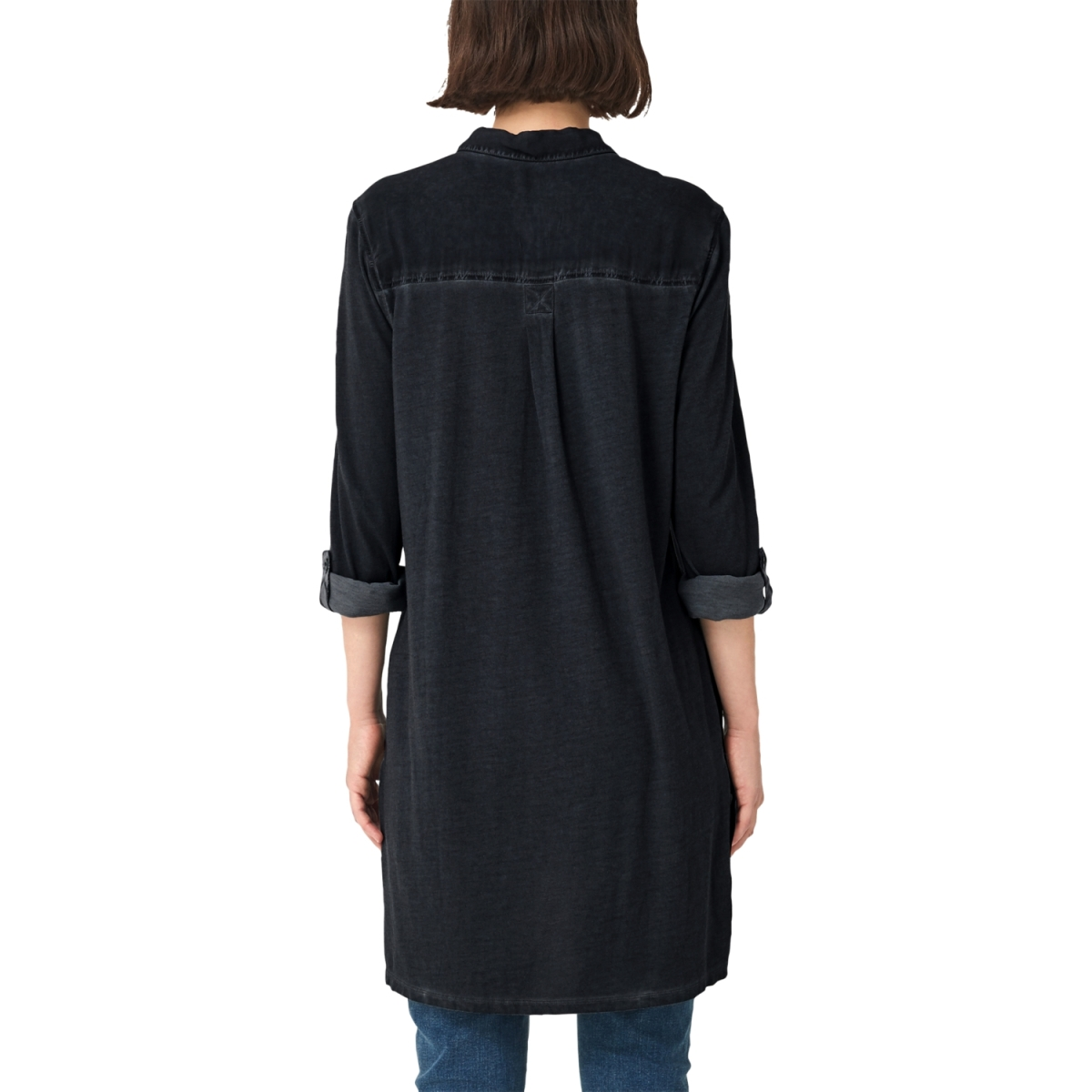 blouse met oprolbare mouwen 41909118502 q/s designed by blouse 9999