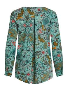 vilucy l/s shirt - fav lux 14049450 vila blouse oil blue/foxglove