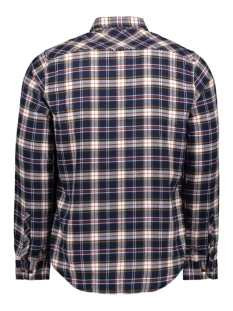 workwear l s shirt m4000016a superdry overhemd navy check