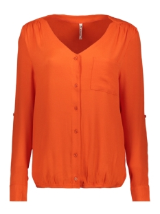 Zoso Blouse AURA CREPE BLOUSE 194 0800 ORANGE