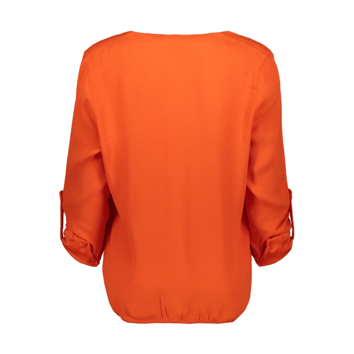 aura crepe blouse 194 zoso blouse 0800 orange