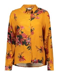 vibirdonbelisa  new l/s shirt/l 14056366 vila blouse golden oak/ belisa