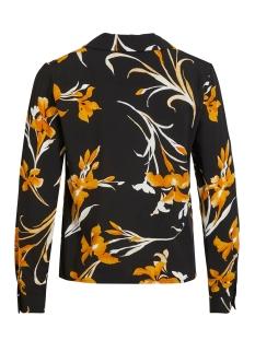 objmagda l/s shirt a lmt 9 23033005 object blouse black/floral print