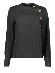 Object Blouse OBJLEIGH L/S SHIRT 104 23030390 Black