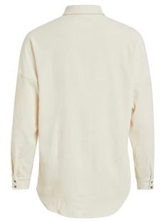 vives l/s shirt/ki/tb 14054891 vila blouse whisper white