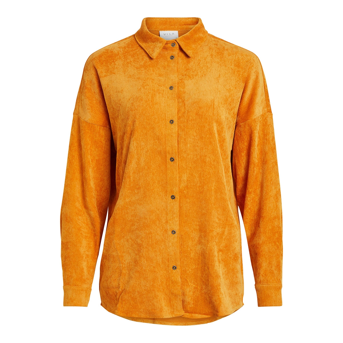 vives l/s shirt/ki/tb 14054891 vila blouse golden oak