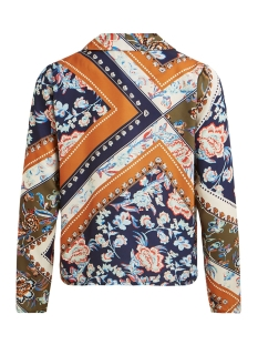 vitrenta l/s shirt 14055634 vila blouse navy blazer/etnic