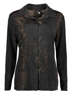 blouse new snal 3659 iz naiz blouse snake dark