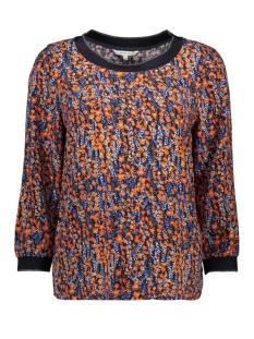 blouse met print 22001814 sandwich blouse 40153