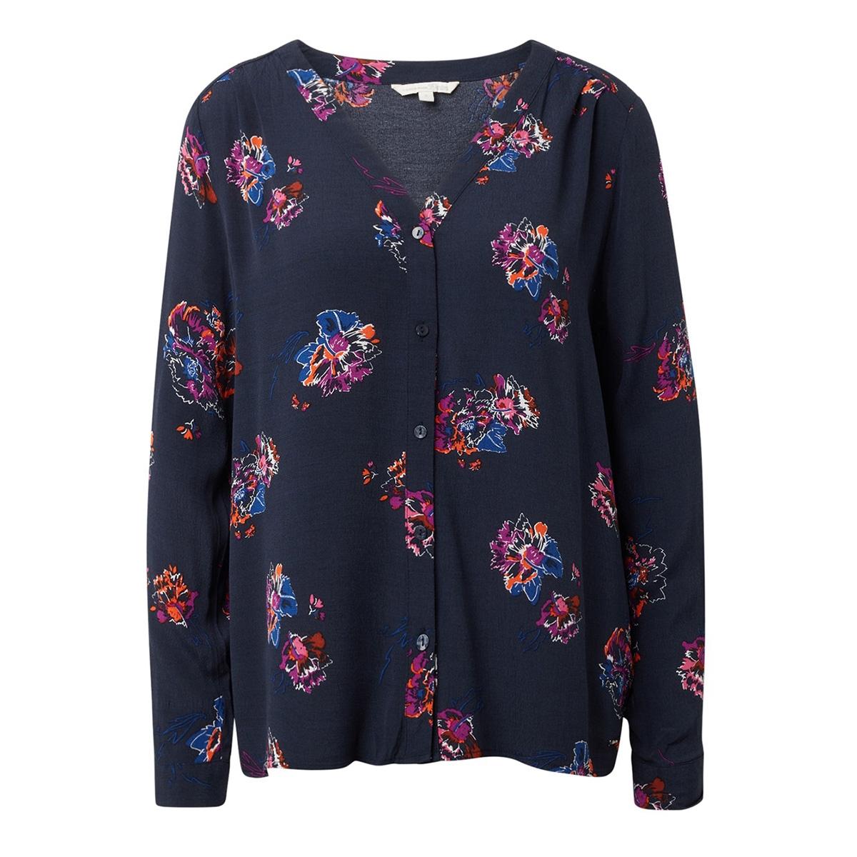 blouse gemaakt van viscose crepe 1014674xx71 tom tailor blouse 20671