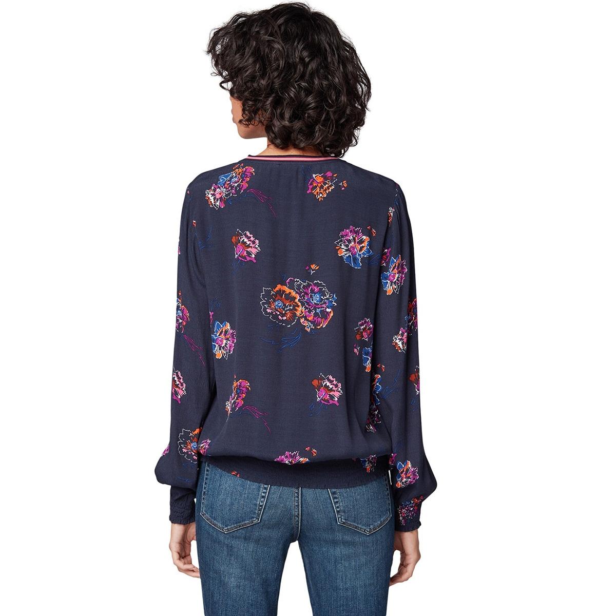 blouse shirt met bloemenpatroon 1014682xx71 tom tailor blouse 20671