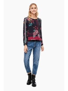 blouse met bloemenprint 14910112373 s.oliver blouse 59f2