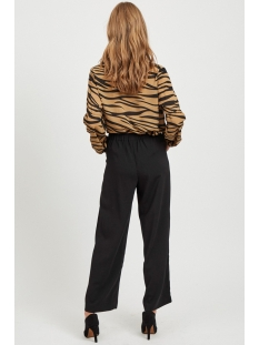 visaffazinnia l/s shirt 14054832 vila blouse tigers eye black