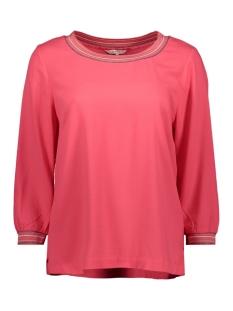 Sandwich T-shirt TOP MET GESTREEPTE LUREX BIES 22001759 20150