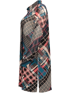 lange transparante blouse met ruit 22001761 sandwich blouse 20150
